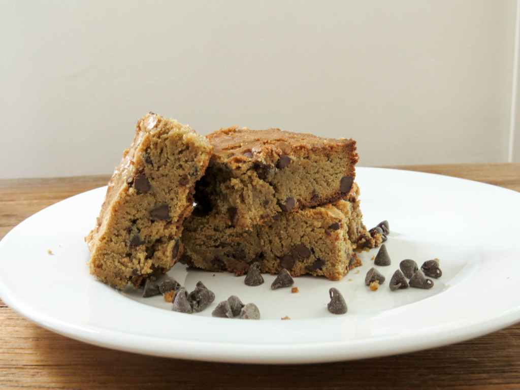 Gluten-Free Buckwheat Blondies
